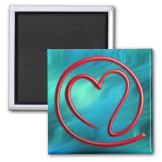 e m a i l 4 y o u bluegreen waves refrigerator magnet