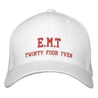 E.M.T/Twinty Foor 7ven Embroidered Baseball Cap