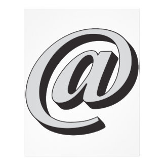 E-mail symbol 3D Flyer