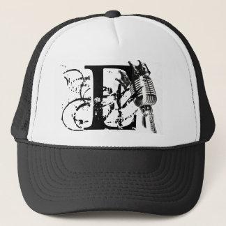 E-MAN MIC KING LID TRUCKER HAT