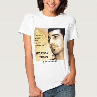 E Marzano s feat. M. Fernandez - Runaway Train Remera