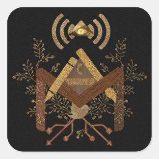 e-Mason 2014 Square Sticker