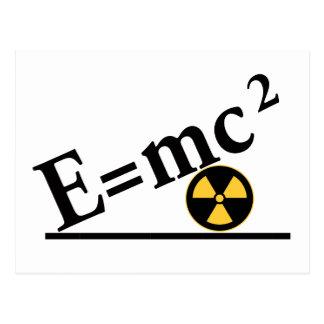 E=mc2 Again Postcard