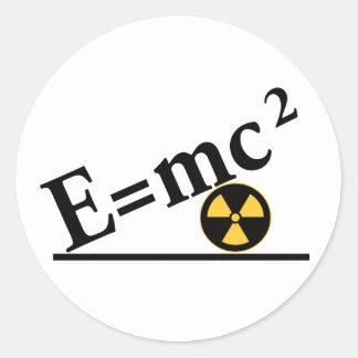E mc2 Again Stickers