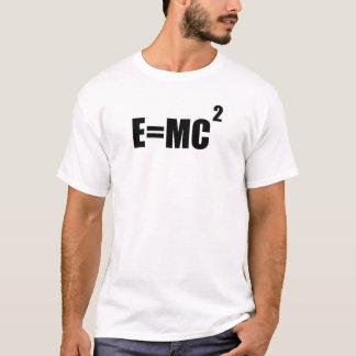 E=MC2 Albert Einstein Theory Men's T-Shirt