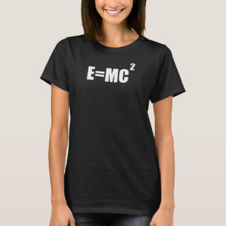 E=MC2 Albert Einstein Theory Women's T-Shirt