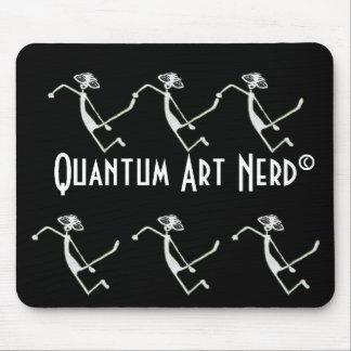 E=MC2 Alien Quantum Art Nerd© Mouse Pad