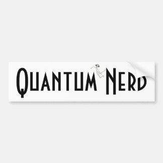 E MC2 Alien Quantum Nerd© Car Bumper Sticker