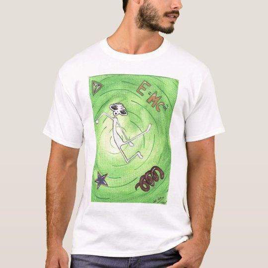 E MC2 Alien T=Shirt T-Shirt