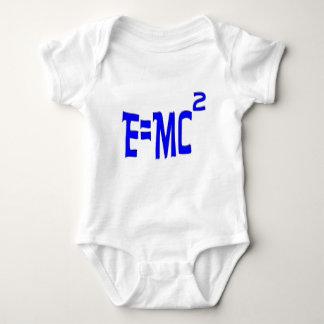 E=MC2 (azul) Mameluco De Bebé