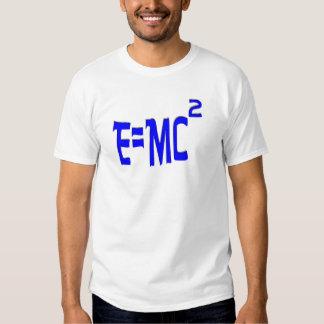 E=MC2 (azul) Poleras