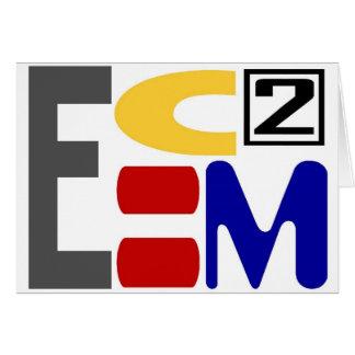 E=MC2 CARD