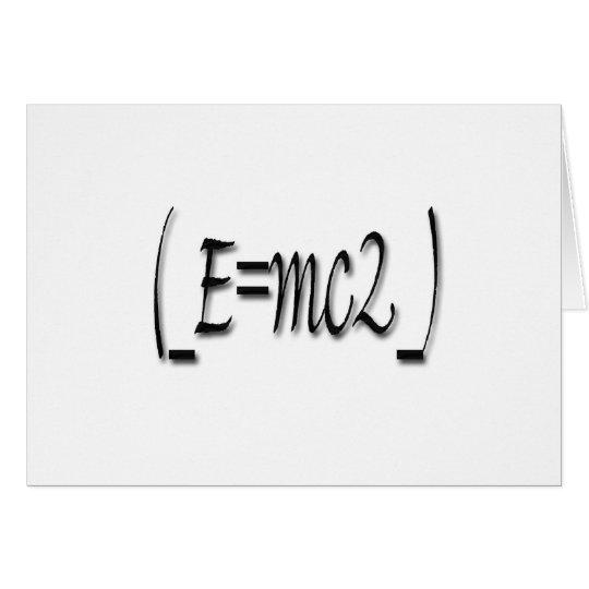 (_E=mc2_) Card