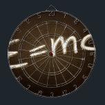 """e=mc2... dart board<br><div class=""""desc"""">e=mc2... </div>"""