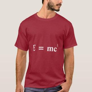 E = mc2 Einstein mass energy conversion T-Shirt