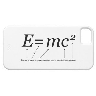 E=MC2 Einstein's Theory of Relativity iPhone SE/5/5s Case
