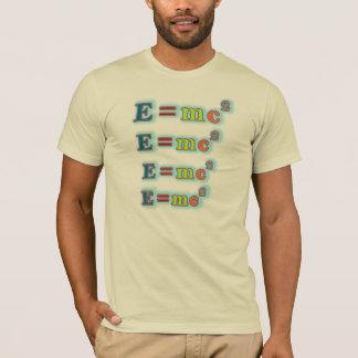 E=mc2 Formula T-Shirt