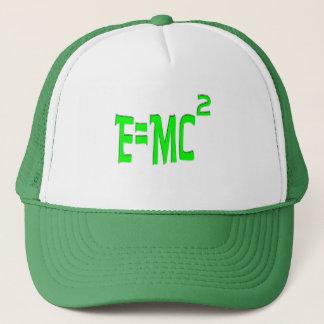 E=MC2 (green) Trucker Hat