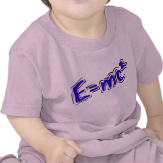 E=MC2 Infant Shirt
