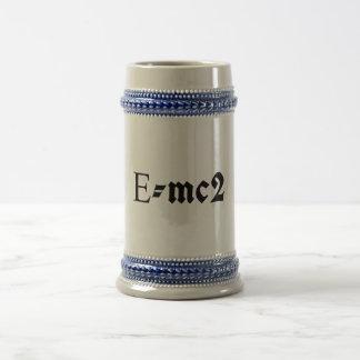 E=mc2 Jarra De Cerveza