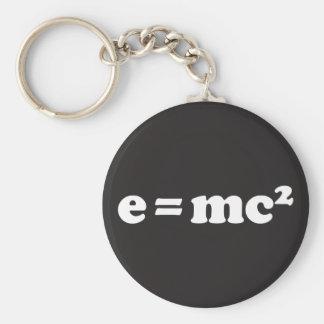 e = mc2 llavero redondo tipo pin