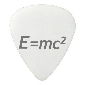 E=mc2 Mass Energy Equivalence Light Speed Physics Acetal Guitar Pick