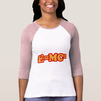 E=MC2 CAMISETAS