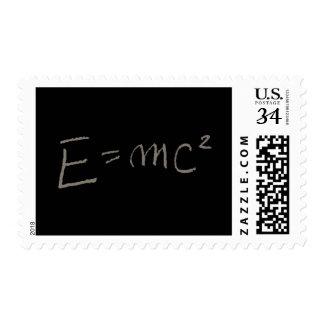 E=MC2 POSTAGE STAMP