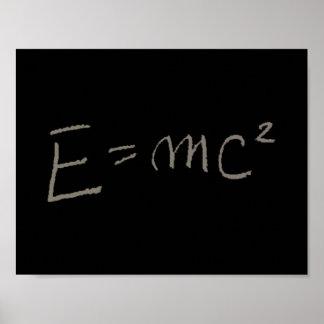 E=MC2 POSTER