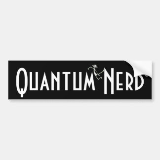 E MC2 Quantum extranjero Nerd© Pegatina Para Auto