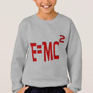 E=MC2 (red) Sweatshirt