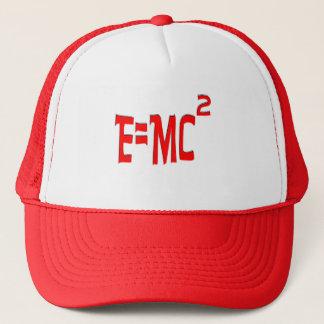 E=MC2 (red) Trucker Hat