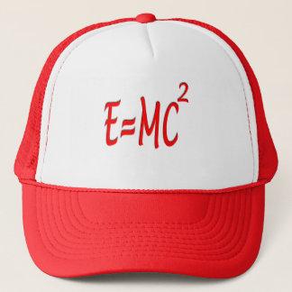 E = MC2 (red) Trucker Hat
