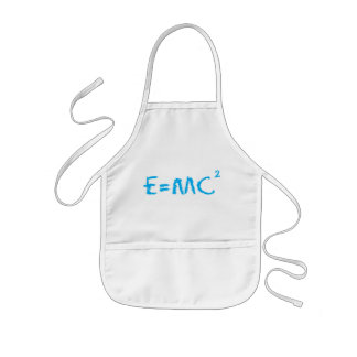 E=MC2 Smart Kid Kids' Apron