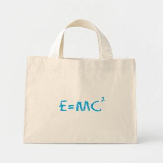 E=MC2 Smart Kid Mini Tote Bag