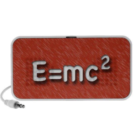E=mc2 speaker