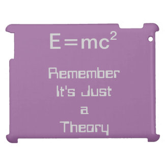 E=mc2 theory iPad case