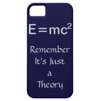 E=mc2 theory iPhone case