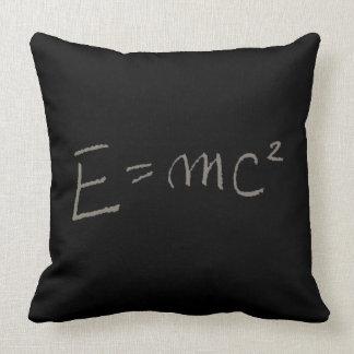 E=MC2 THROW PILLOW