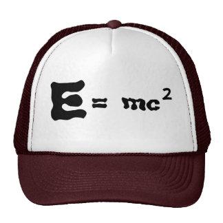 E = mc2 trucker hat