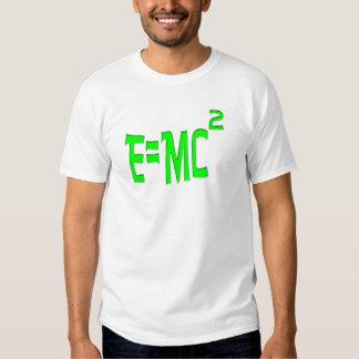 E=MC2 (verde) Camisas