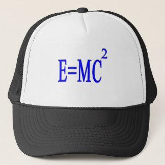 E=MC 2 (blue) Trucker Hat