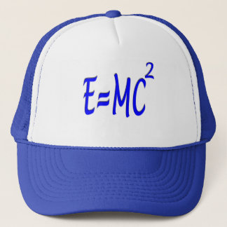 E = MC 2 (blue) Trucker Hat