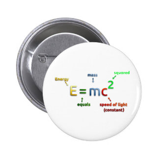 E MC 2 E equals MC Squared Pin