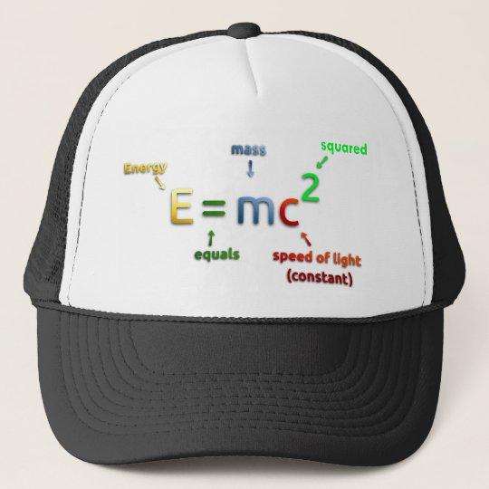 E = MC^2. E equals MC Squared Trucker Hat