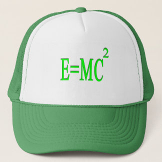 E=MC 2 (green) Trucker Hat