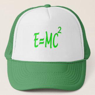 E = MC 2 (green) Trucker Hat