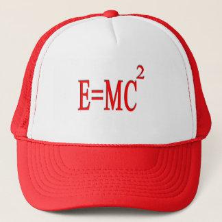 E=MC 2 (red) Trucker Hat