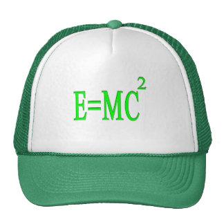 E=MC 2 (verde) Gorro