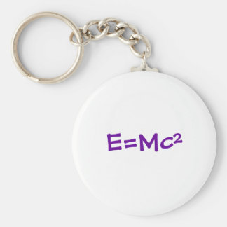 E=Mc² Keychain